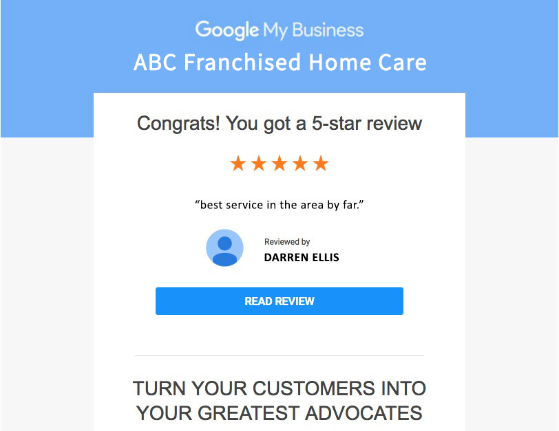 ABC Google Review