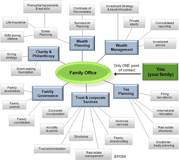 Family Office Diagram